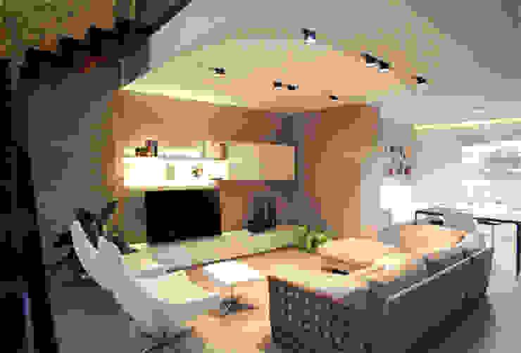 Salas de estar modernas por Vincenzo Leggio Architetto Moderno