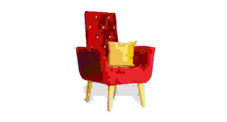 Polka-Dot Chair: modern  by Square Barrel,Modern