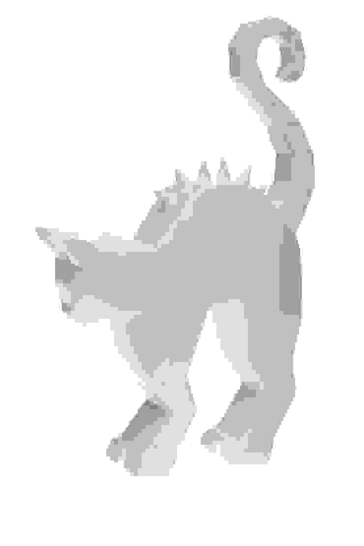 Creepy cat statue por BYFLY Moderno Cerâmica