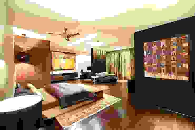 Peacock and the Woods Aijaz Hakim Architect [AHA] Modern style bedroom