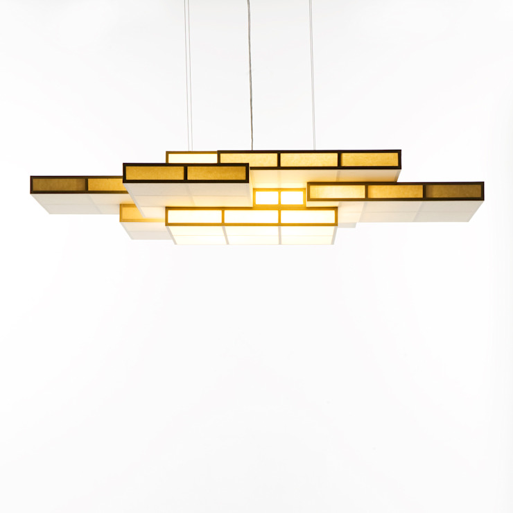 KASANEANDON PENDANT: TERAUCHI DESIGN OFFICE CO.,LTD.が手掛けた現代のです。,モダン