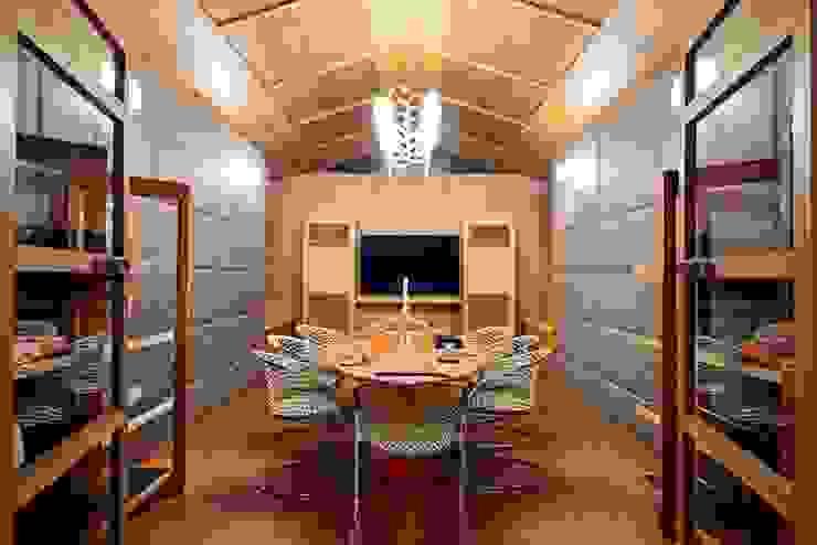 Peacock and the Woods Aijaz Hakim Architect [AHA] Modern media room