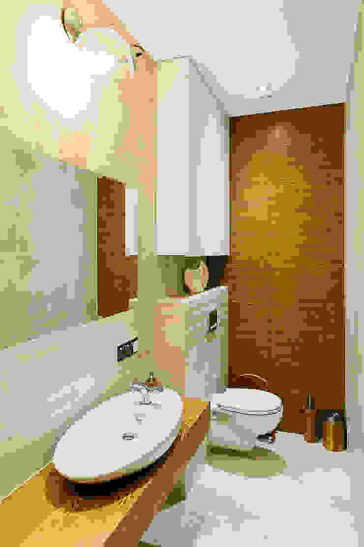 mieszkanie- Połczyn Zdrój Nowoczesna łazienka od Kameleon - Kreatywne Studio Projektowania Wnętrz Nowoczesny