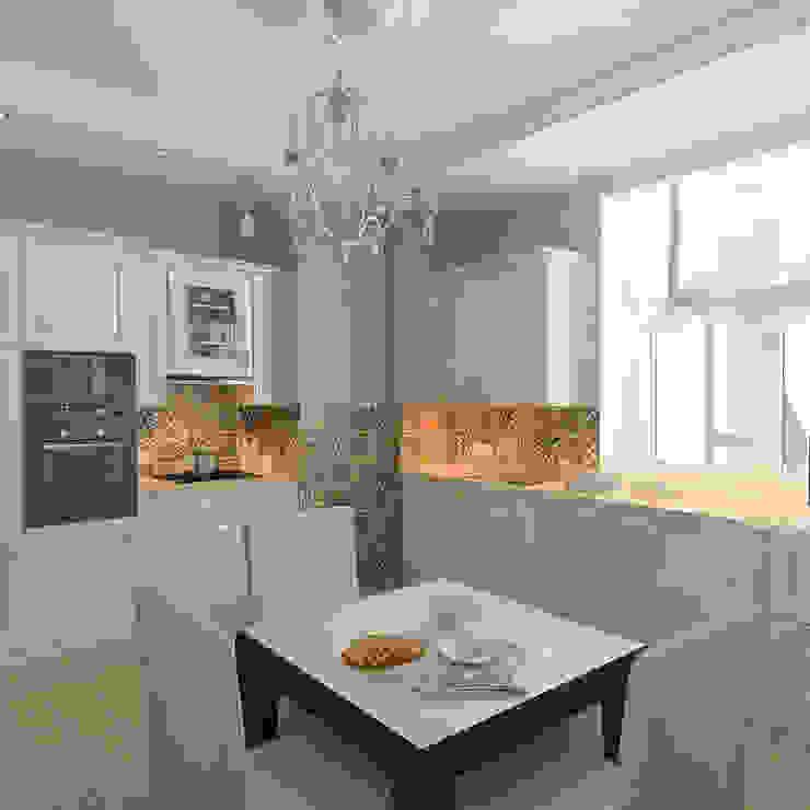 Landhaus Küchen von Design interior OLGA MUDRYAKOVA Landhaus
