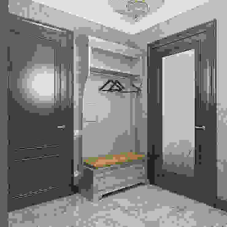 Klassischer Flur, Diele & Treppenhaus von Design interior OLGA MUDRYAKOVA Klassisch