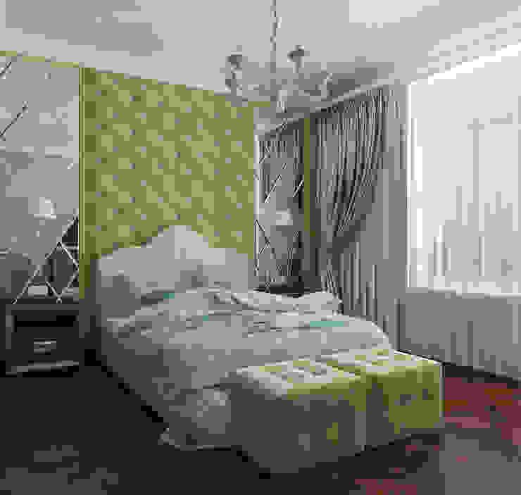 Klassische Schlafzimmer von Design interior OLGA MUDRYAKOVA Klassisch