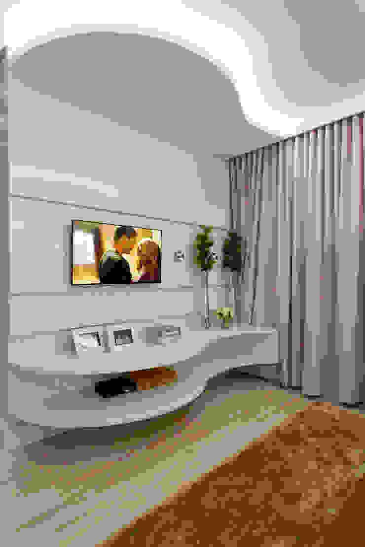 Arquiteto Aquiles Nícolas Kílaris Dormitorios de estilo moderno Tablero DM
