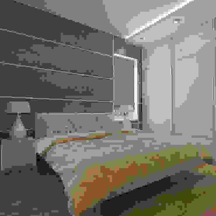 Dormitorios de estilo escandinavo de Design interior OLGA MUDRYAKOVA Escandinavo