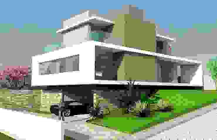 Casa Retang. Casas modernas por Habita Arquitetura Moderno