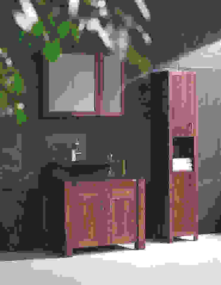 Stonearth Walnut Finesse Stonearth Interiors Ltd Modern Bathroom Solid Wood