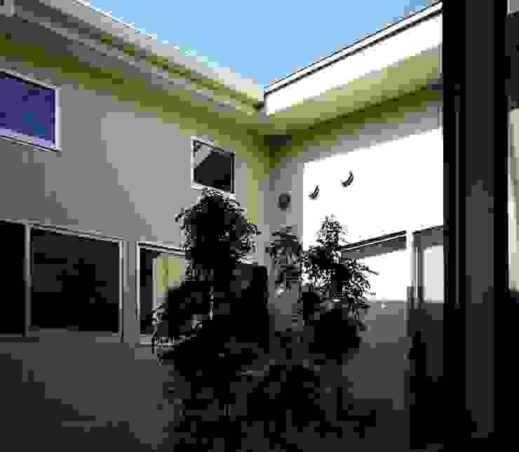 M-House モダンデザインの テラス の SO-DESIGN建築設計室 モダン