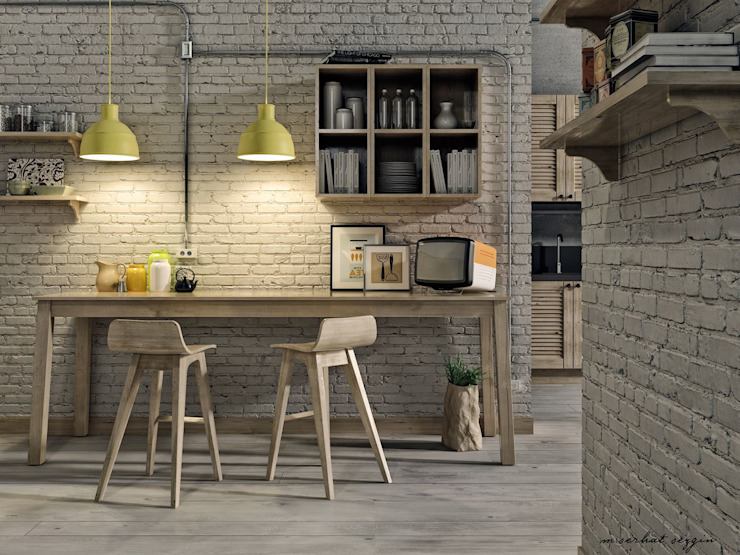 Modern Kitchen by M.Serhat SEZGİN Modern