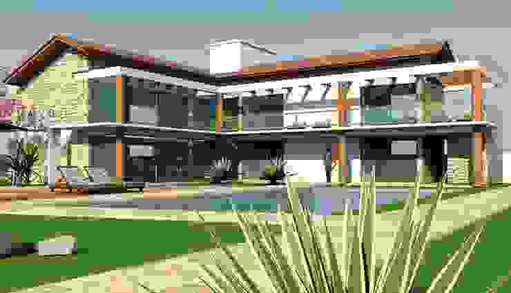 Casa Convívio Casas ecléticas por Habita Arquitetura Eclético