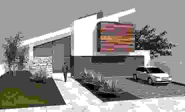 Casa Angulo Casas modernas por Habita Arquitetura Moderno