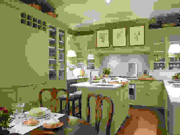 """El color """"topo"""" impregna muebles y paredes Cocinas de estilo clásico de DEULONDER arquitectura domestica Clásico"""