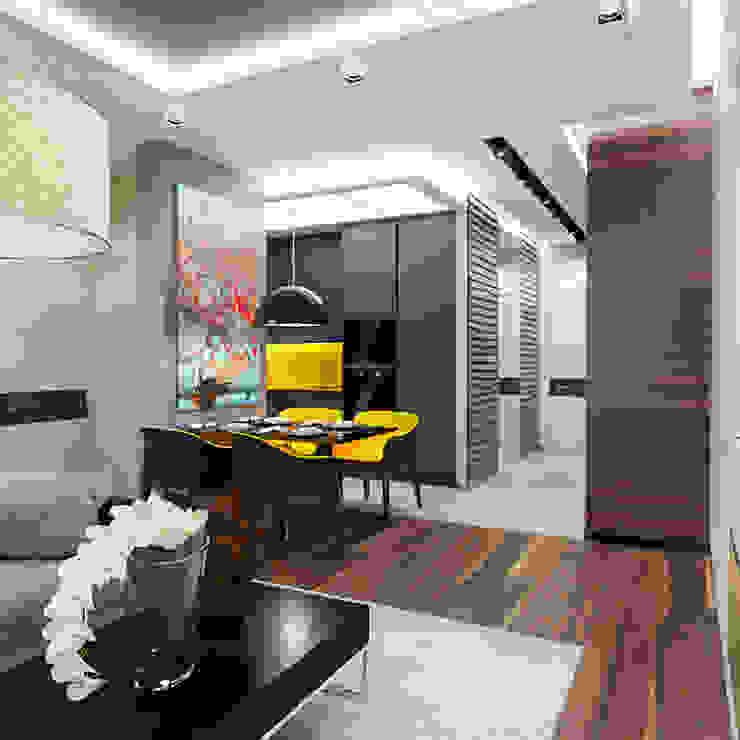 INTERIERIUM Minimalist dining room