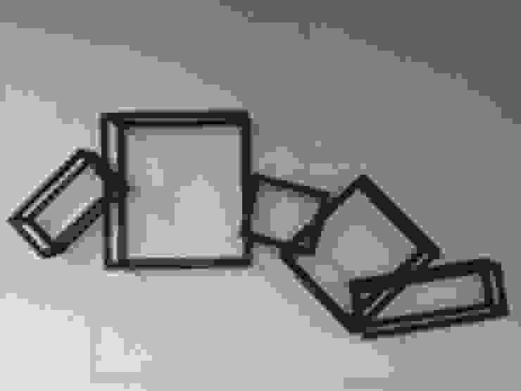 3D rectangles!: modern  by Designmint,Modern Iron/Steel