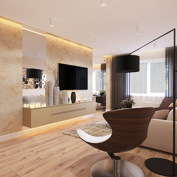 INTERIERIUM Modern Living Room