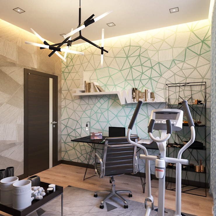 INTERIERIUM Modern Study Room and Home Office
