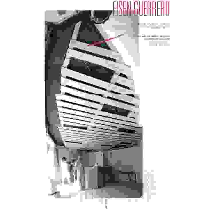 Techo en la fase de ejecución EISEN Arquitectura + Construccion Bodegas de vino de estilo minimalista