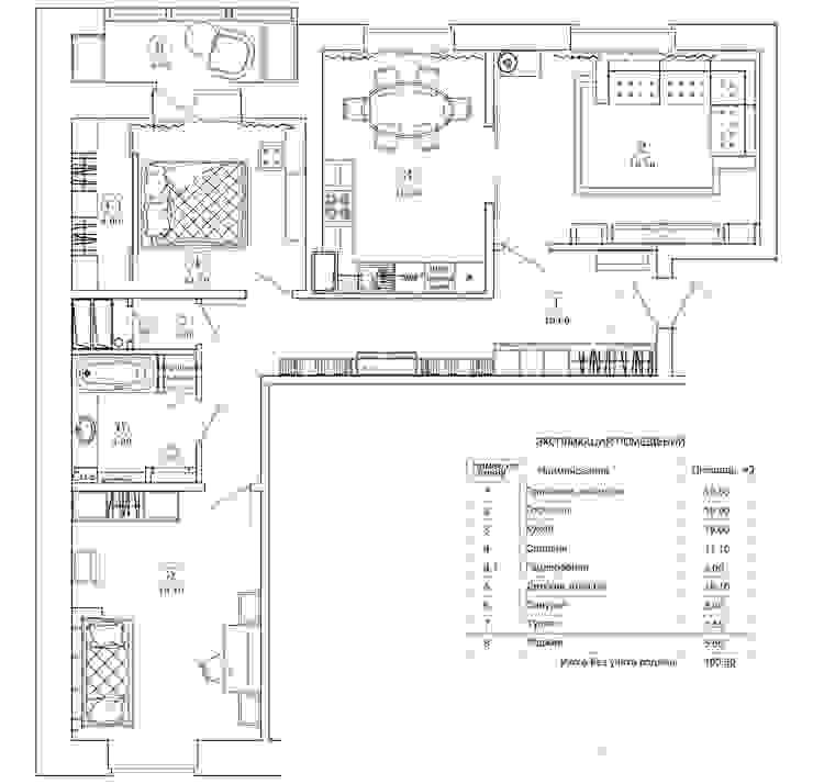 von Design interior OLGA MUDRYAKOVA Klassisch