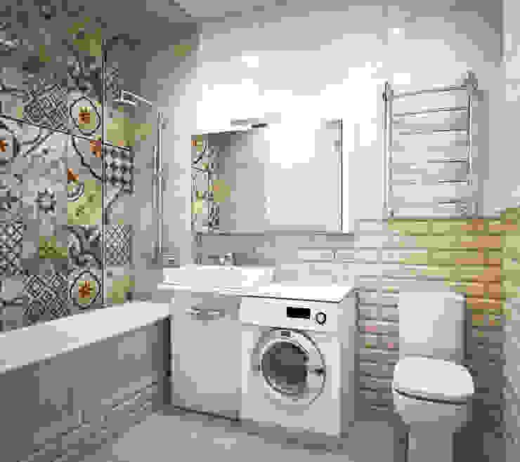 Phòng tắm phong cách Bắc Âu bởi Pure Design Bắc Âu