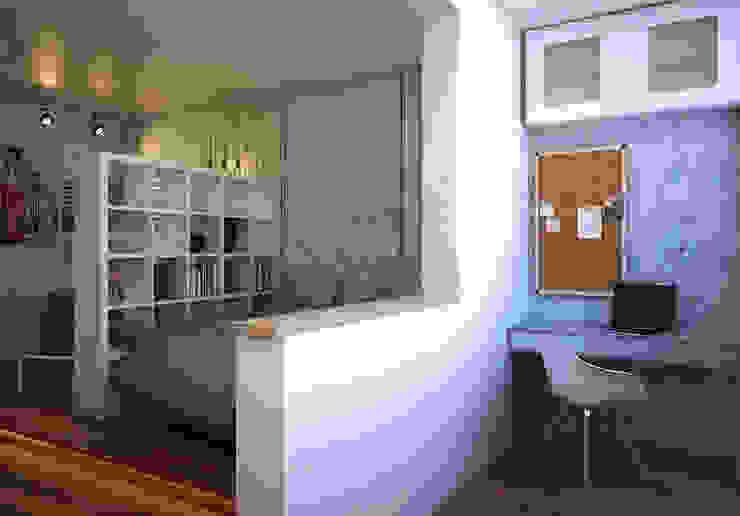 Phòng học/văn phòng phong cách Bắc Âu bởi Pure Design Bắc Âu