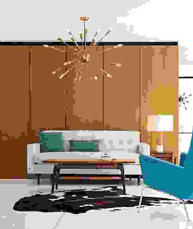 Bantam Sofa de Design Within Reach Mexico Moderno Cuero Gris