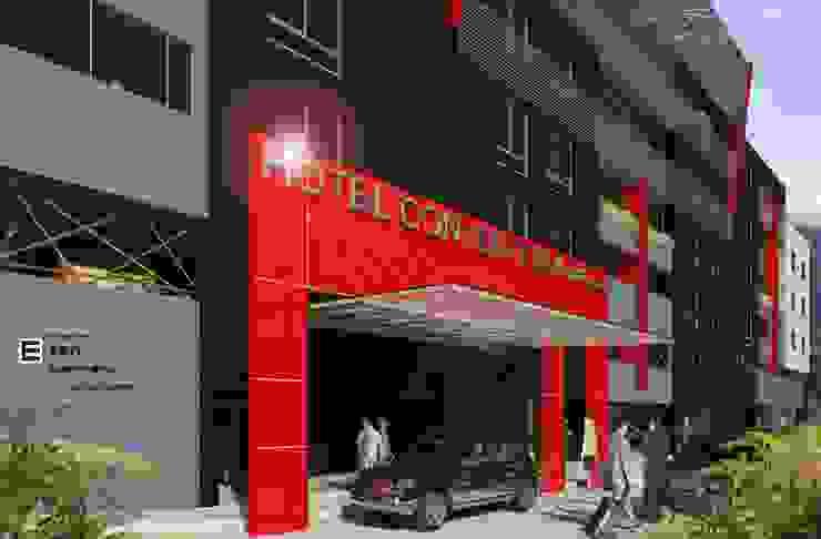 Hotel Covention Suites. 2013 EISEN Arquitectura + Construccion Casas de estilo escandinavo