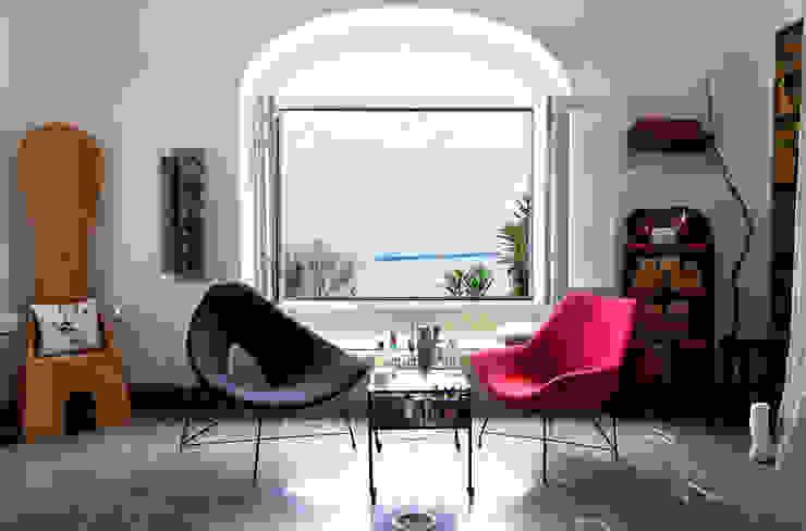 Salon Carmé Salones de estilo ecléctico