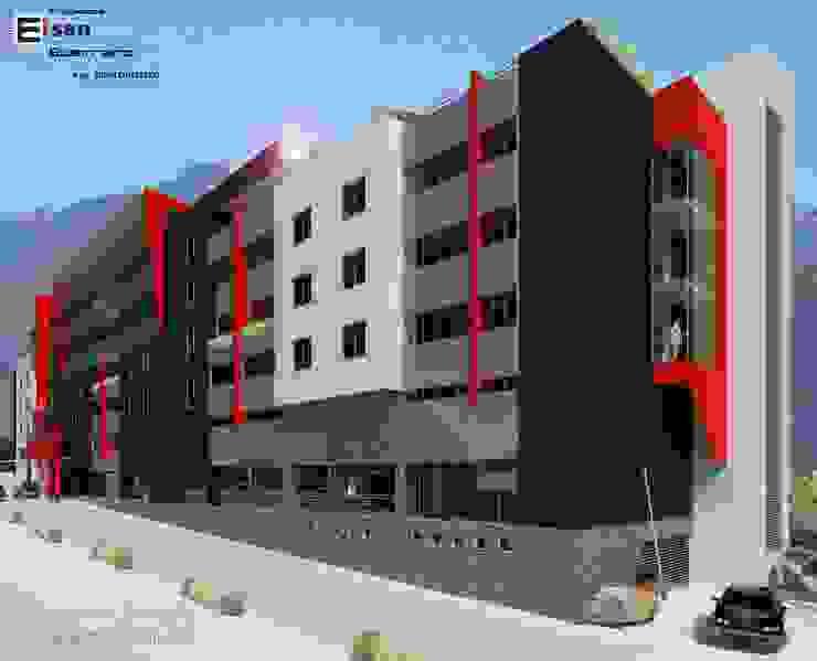 Hotel Convention boutique. 2013 EISEN Arquitectura + Construccion Casas de estilo escandinavo