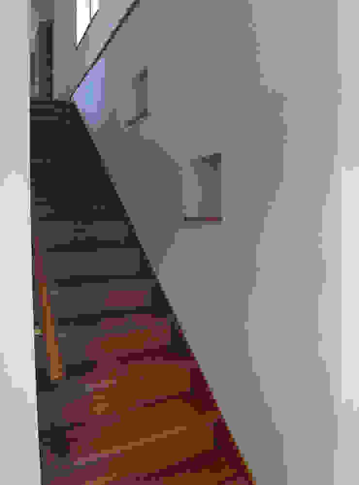楠葉の家 モダンスタイルの 玄関&廊下&階段 の 株式会社 atelier waon モダン