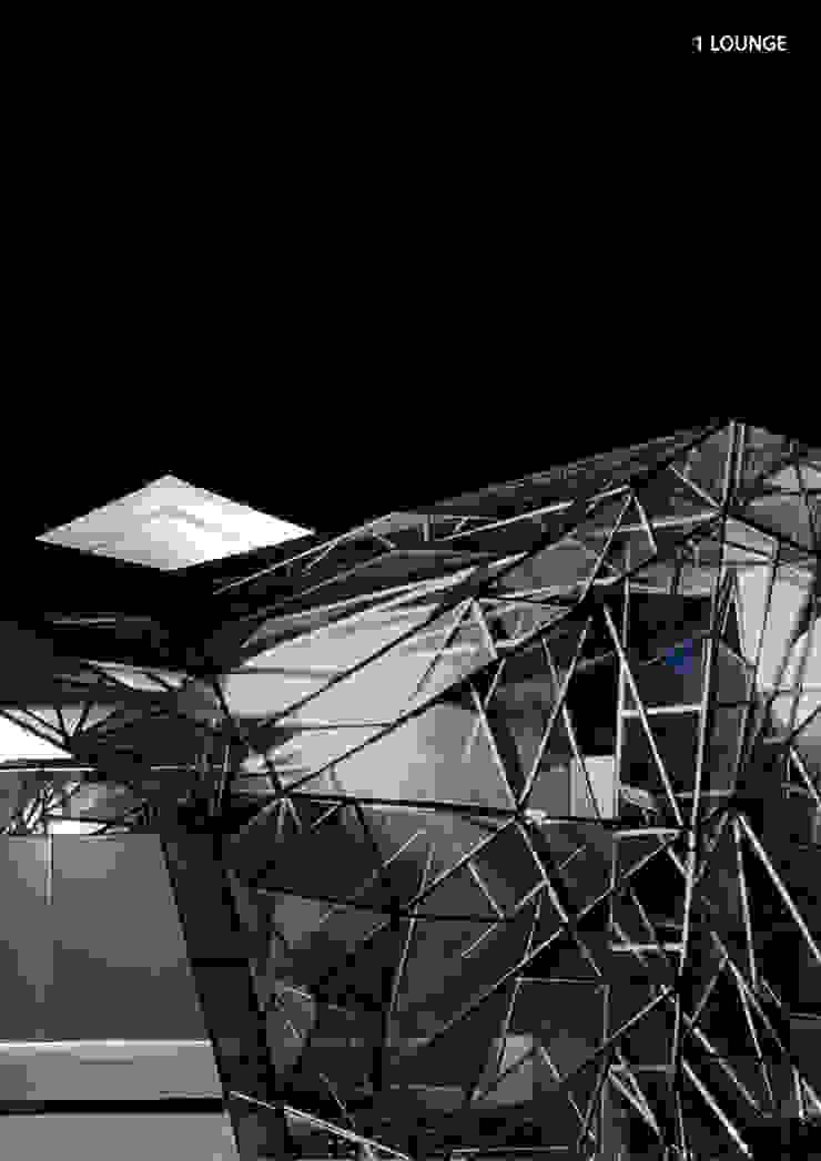 1 LOUNGE Modern bars & clubs by Aijaz Hakim Architect [AHA] Modern