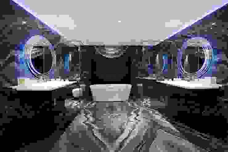 THE RIDGES - A3 VILLA Modern bathroom by Aijaz Hakim Architect [AHA] Modern