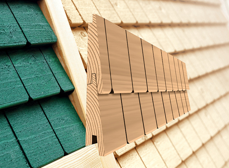 Braun & Würfele - Holz im Garten Country style house Wood