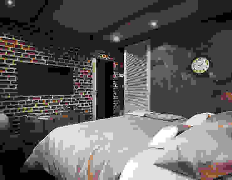 Cg Artist ibrahim ethem kısacık – Yatak Odası: modern tarz , Modern