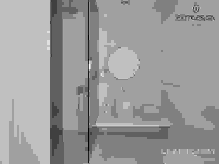 LK&1048 ŁAZIENKA Nowoczesna łazienka od LK & Projekt Sp. z o.o. Nowoczesny