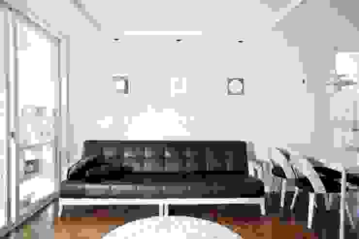 가오동 은어송 1단지 109 m2 모던스타일 거실 by 도노 디자인 스튜디오 모던
