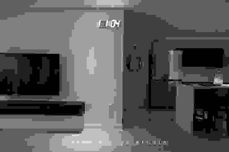 노은동 열매마을 9단지 115 M2 모던스타일 거실 by 도노 디자인 스튜디오 모던