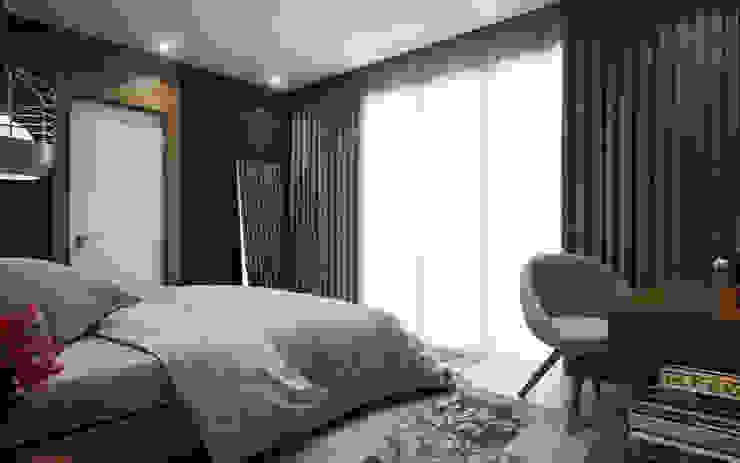 Cg Artist ibrahim ethem kısacık – Yatak Odası : modern tarz , Modern