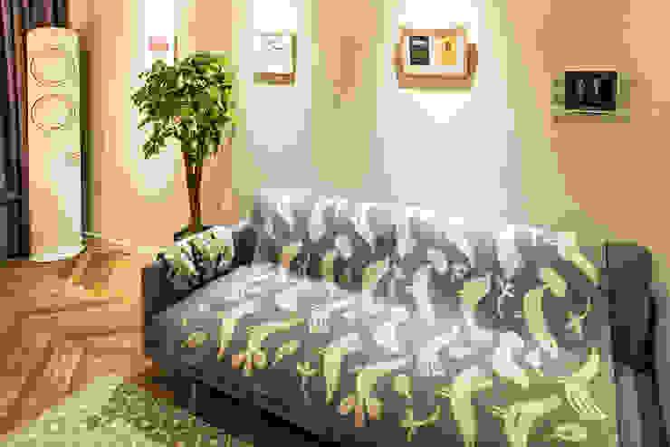 용인시 수지구 죽전동 성현마을 광명샤인빌아파트 (24평형): 아르떼 인테리어 디자인의  거실,모던