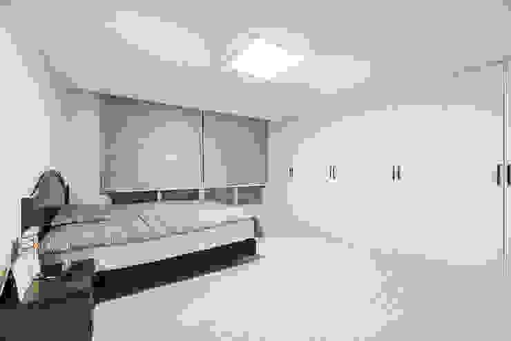 수원시 영통구 이의동 자연앤자이아파트 (48평형): 아르떼 인테리어 디자인의  창문