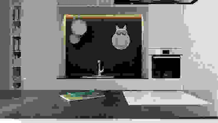 Modern kitchen by A2.STUDIO PRACOWNIA ARCHITEKTURY Modern