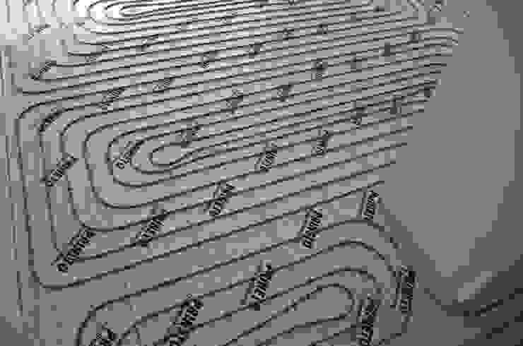 Dynamic444 (departamento de climatização) Modern walls & floors