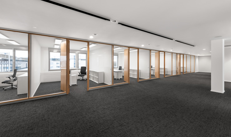Wohninvest_006 Moderne Bürogebäude von PFERSICH Büroeinrichtungen GmbH Modern