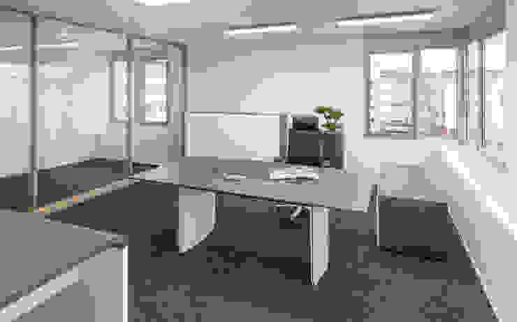 Wohninvest_009 Moderne Bürogebäude von PFERSICH Büroeinrichtungen GmbH Modern