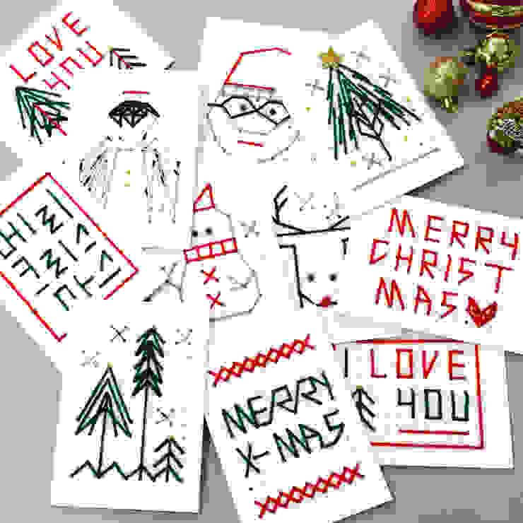 Christmas card : iwanna의 현대 ,모던