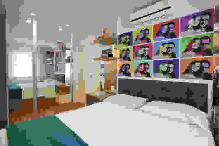 Chambre de style  par Samy & Ricky Arquitetura, Moderne