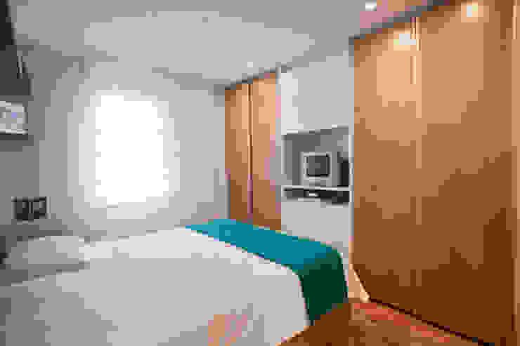 Apartamento Butantã Quartos modernos por Samy & Ricky Arquitetura Moderno