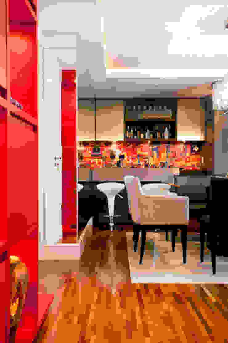 Apartamento Butantã Salas de jantar modernas por Samy & Ricky Arquitetura Moderno